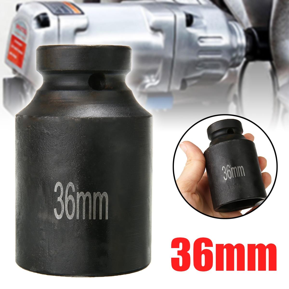 36mm conjunto de soquete de impacto 1/2
