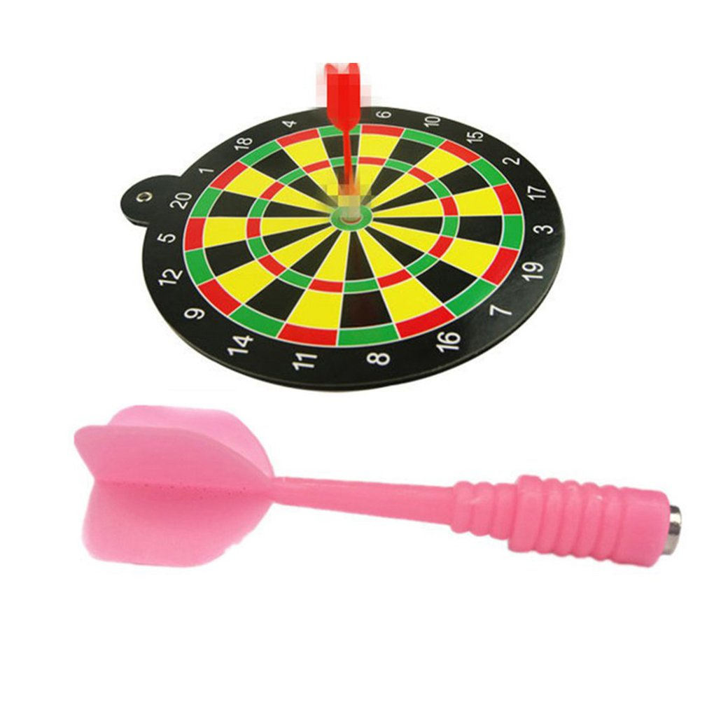 Magnetic Dart Board Darts Suit Double-sided Darts Plate Of Safety Dart Needle For Indoor Game For Children Adult Toy