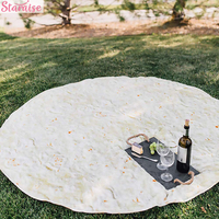 Tortilla Wrap Burrito Mexican Blanket Beach Towel Summer Party Decoration Pool Party Supplies Home Decoration