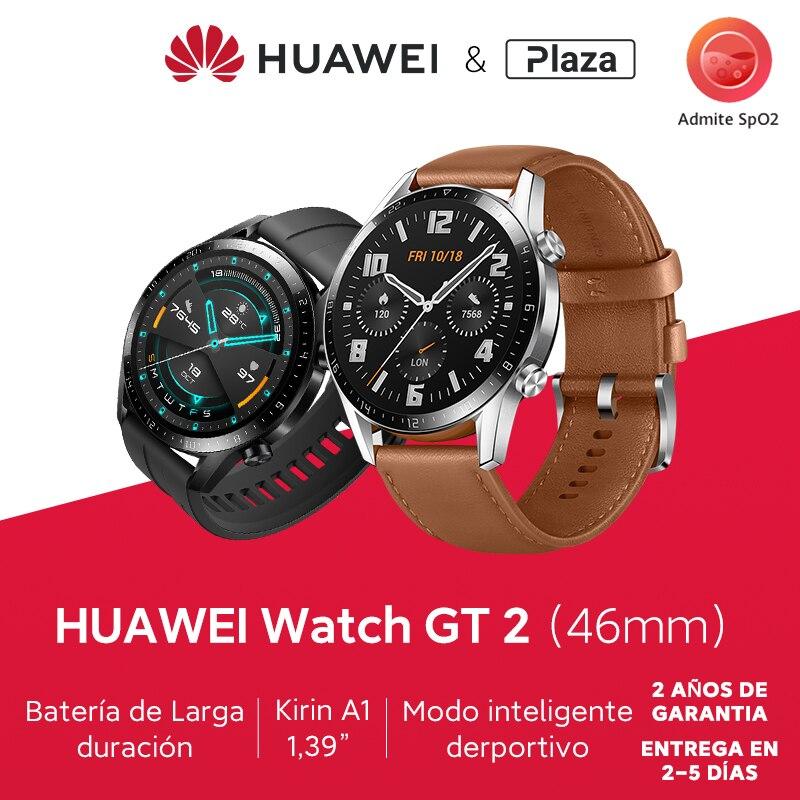 HUAWEI montre GT 2 GT2 montre intelligente oxygène dans le sang montre intelligente 14 jours appel téléphonique traqueur de fréquence
