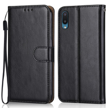 Luxury Leather Case for On Samsung Galaxy A02 A022 A022F SM A022F 6.5 Wallet Stand Flip Case Phone Bag with Strap