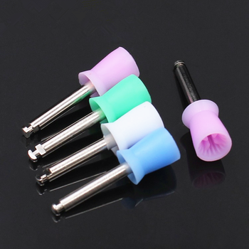 цены 100pcs/Box Dental Prophy Cup Rubber Polish Polishing Tooth Latch Type Mixed Color for Dental Lab