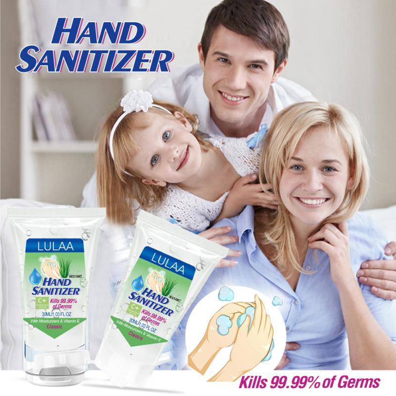 Non-Alcohol Hand Sanitizing Gel Disinfection Gel Portable Personal Hygiene Cleaning Supplies Kills 99.99% Germs Cream TSLM1