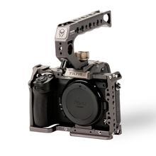 Tilta dslr rig câmera gaiola para nikon z6 z7 câmera TA T02 A G kit completo gaiola alça superior tiltaing rig z6 z7 acessórios
