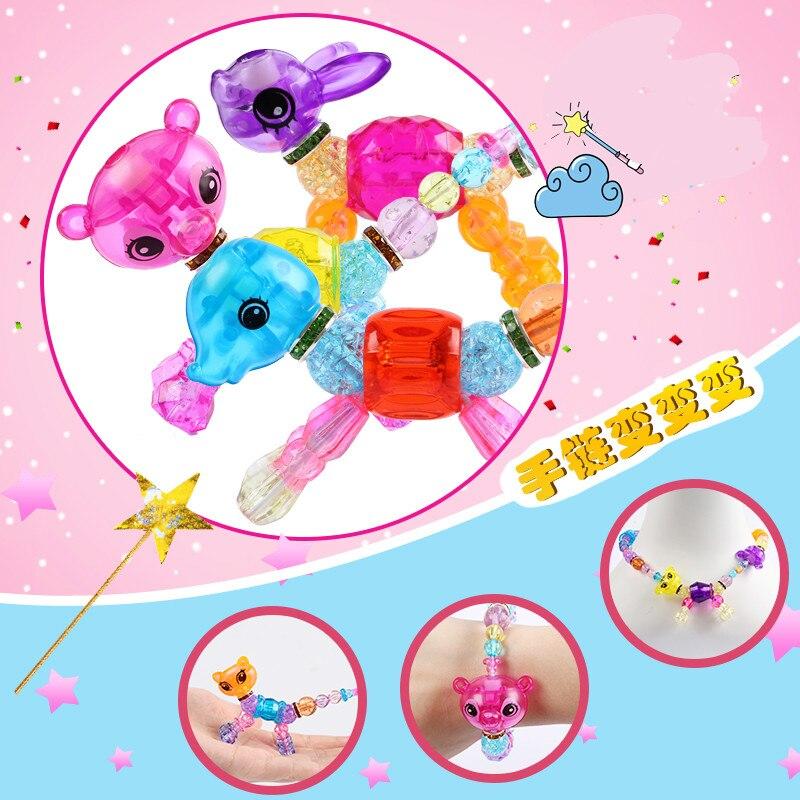 Children's Toys Handmade Beads Magical Diy Magic Animal Variety Bracelet Funny Gadgets Toys For Children
