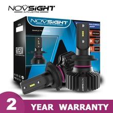 Novsight novo h7 lâmpadas led 12v farol do carro h4 h11 h8 h9 lâmpadas led 6500k luzes do carro led h7 hb3 9005 hb4 9006 9005 faróis automóveis