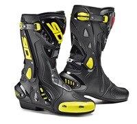 Скоростные ботильоны, защитные мотоциклетные ботинки, мотоциклетная обувь, мотоциклетный гоночный ботинки для мотокросса, обувь для велос