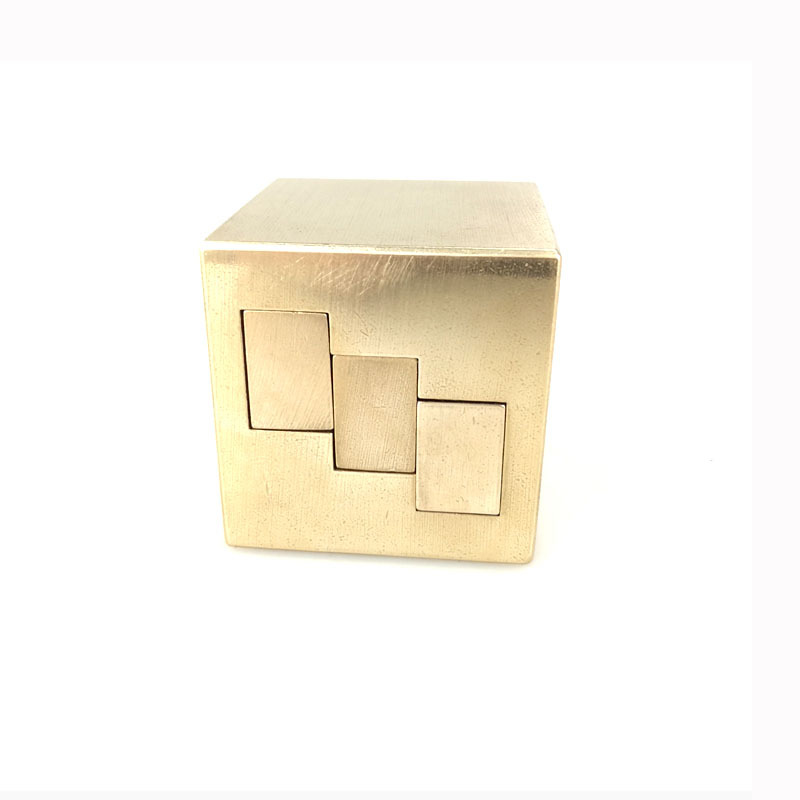 Useful Product Educational Root Class Boring Brass Luban Lock Burr Puzzle Twenty-four Relaxation Unisex Unlock 14-Year-Old Or Ab