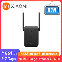 New Global Version Xiaomi Mi WiFi Range Extender AC1200 2.4GHz And 5GHz Band 1200Mbps Ethernet Port Amplifier WiFi Signal Router