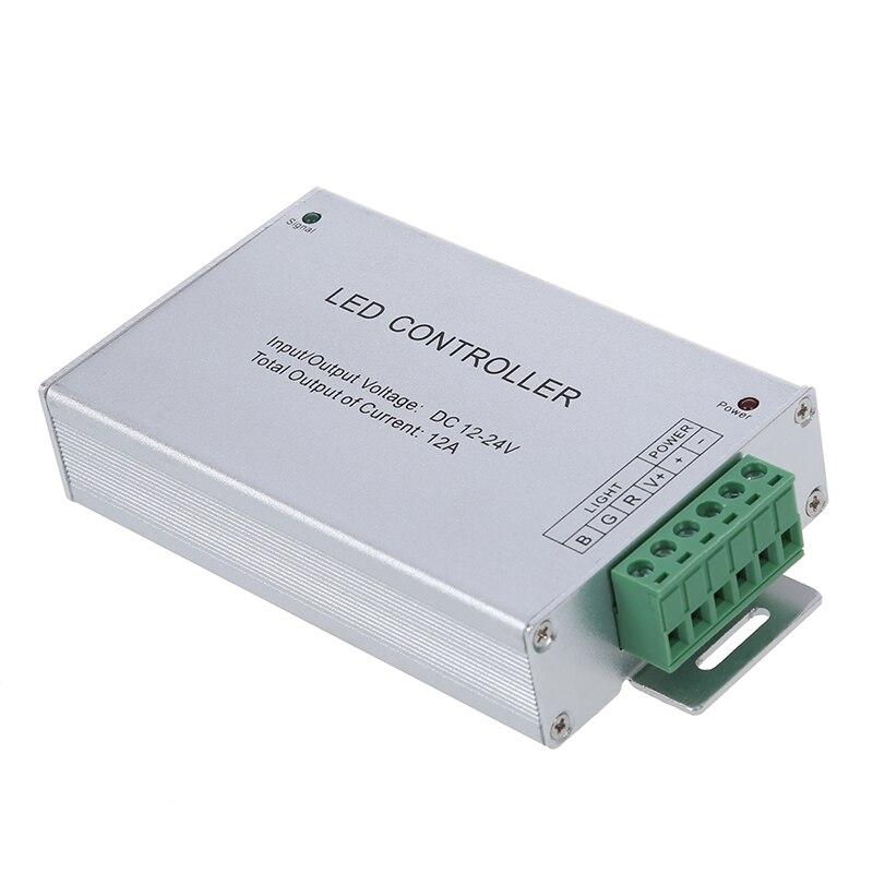 12-24V RGB LED Controller w/20 Key RF Remote