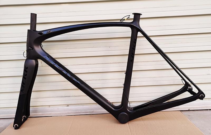 Estoque novo 700c carbono quadro da bicicleta de estrada cheia carbono de corrida quadros com garfo bicicleta peças