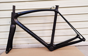 Stock New 700C Carbon Road Bike Frame Full Carbon Racing Bike Frames with Carbon Bike Fork Bicycle Parts