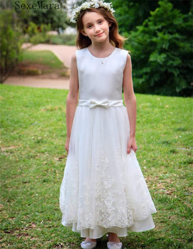 Fancy Flower Girl Long Gown for Princess Party Dress Children Formal Clothes Kids Dresses for Girls Birthday Evening Clothing
