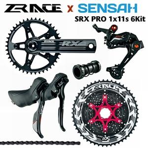 SENSAH SRX PRO 1x11 vitesses, groupe route 11 s, manette de vitesse R/L + dérailleurs arrière + ZRACE ALPHA, gravier-vélos Cyclo-Cross