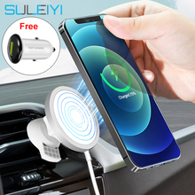 Car-Phone-Holder Magsafe-Charger Magnetic iPhone Wireless-Charging Mini 15W for 12-pro/Max/Mini