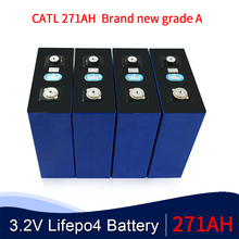 OYE grade A 8PCS 3.2V 271Ah 280AH lifepo4 Battery pack 12V271AH 24V271AH cell Lithium Iron Phosphate solarcells EU US  tax free