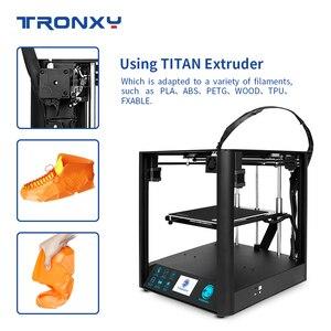 Image 3 - 2020 neueste Schnelle Montage 3D Drucker TRONXY D01 mit Industrie Linear Guide und Titan Extruder Optional Gehäuse acryl bord