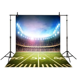 Image 2 - Allenjoy Real Madrid photocall background football field Soccer birthday sport communion party photocall photophone backdrop