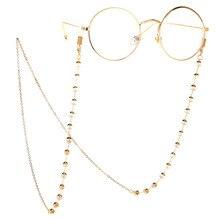 Модная цепочка Золотая прозрачная Хрустальная подвеска с очками пресбиопические очки анти-потеря подвеска Aliexpress Amazon