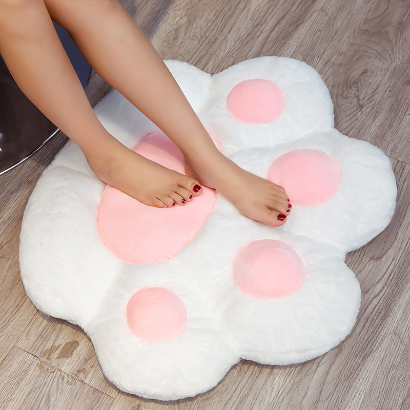 1 PC INS NEW Paw Pillow Animal Seat Cushion Stuffed Small Plush Sofa Indoor Floor Home Chair Decor Winter Children Gift 6