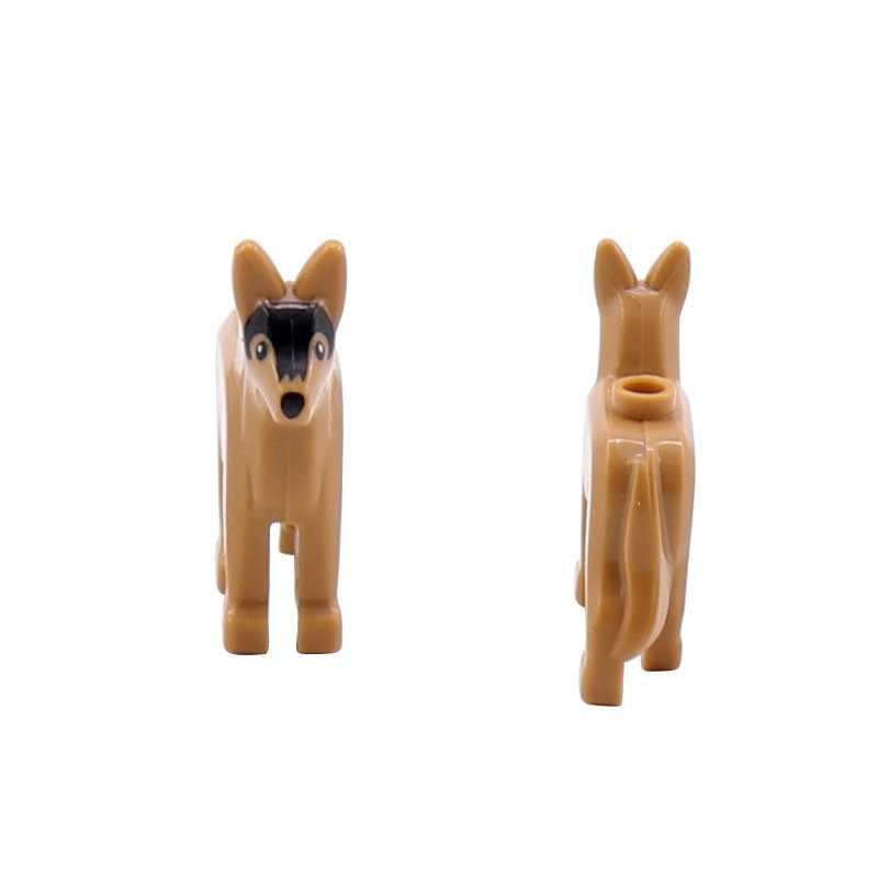 5 pçs militar cão arma militar armas cidade polícia peças playmobil mini figuras bloco de construção tijolos brinquedos originais