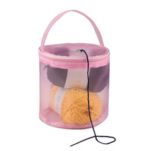 Organizer Yarn-Storage Sewing-Accessories Crochet Thread Portable 1PC Mesh-Bag