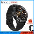 Ticwatch S2 reloj inteligente Android Wear reloj con Bluetooth y GPS impermeable 5 ATM 24hr Monitor de ritmo cardíaco seguimiento proactivo