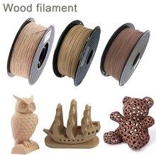 Wood Filament PLA 3D Printer 1.75mm 250g / 0.5Kg / 1Kg 3D Printing Material PLA Light Dark Red Wooden Color Filaments No Bubble