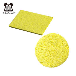 1 piece  Round Square Replacement Sponges Soldering Iron Cleaner Solder Tip
