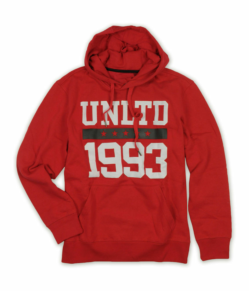 Ecko Unltd. Mens Embroidered 1993 Hoodie Sweatshirt Unisex Size S-3Xl