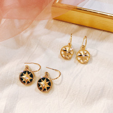 2019 Limited Rushed Pendientes Korea Stud Earrings Baroque S 925 Needle Retro Simple Fashion Color Round For Women Jewelry