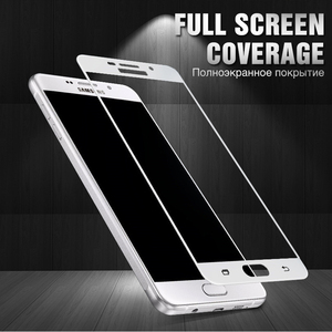 Image 4 - Protective Glass On For Samsung Galaxy A5 A7 A3 2017 2016 Tempered Glass For Samsung J5 J7 J4 J3 2018 2016 Screen Protector Film