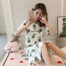 Nightwear Pregnancy-Nightdress Breast-Feeding-Clothes Maternity-Breastfeed Nursing Room-Wear