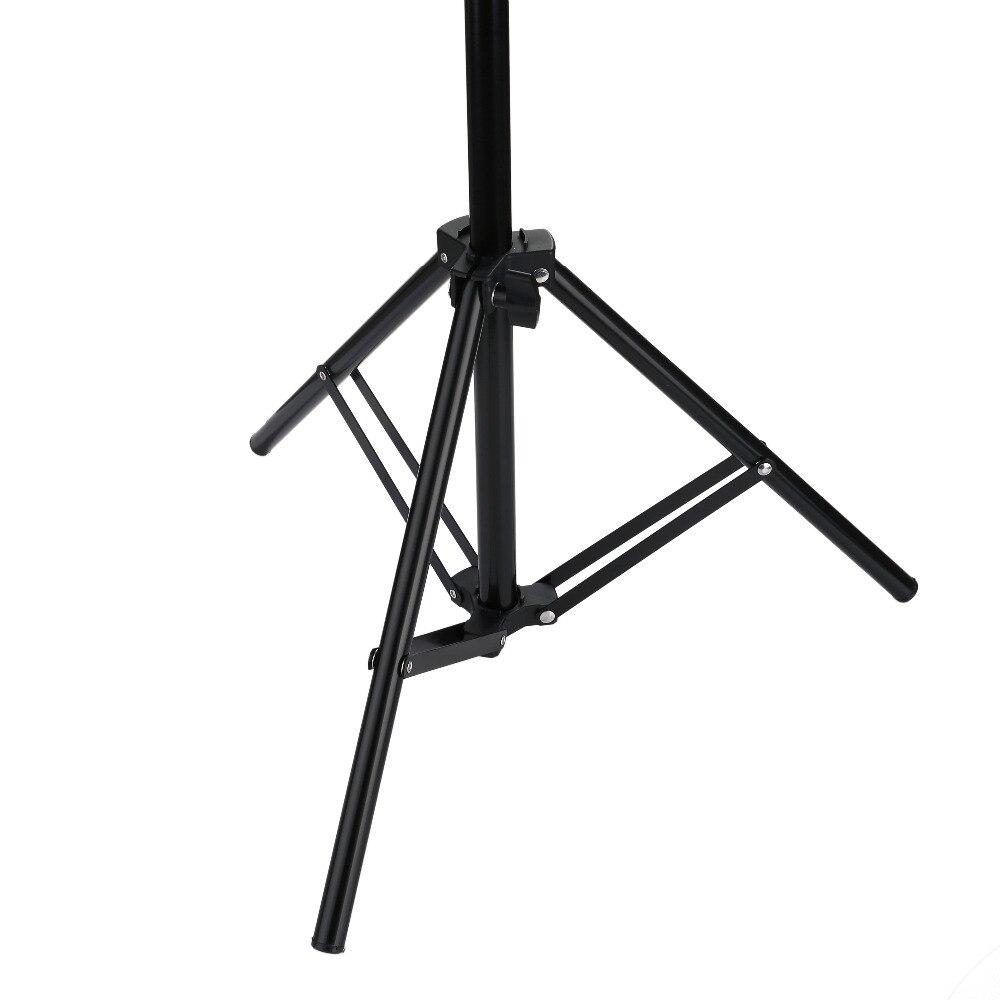 H382206c3f5684cac930d25e2ec4d1660A 110 160 200cm Photography Tripod Light Stands For Photo Studio Relfectors Softbox Lame Backgrounds Video Lighting Studio Kits