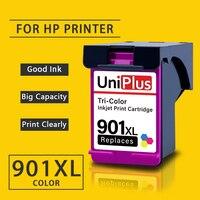 UniPlus Bunte Tinte Patrone 901XL Ersatz für HP 901 XL hp 901 für HP Drucker Officejet J4624 J4660 J4680 J4680c j4860