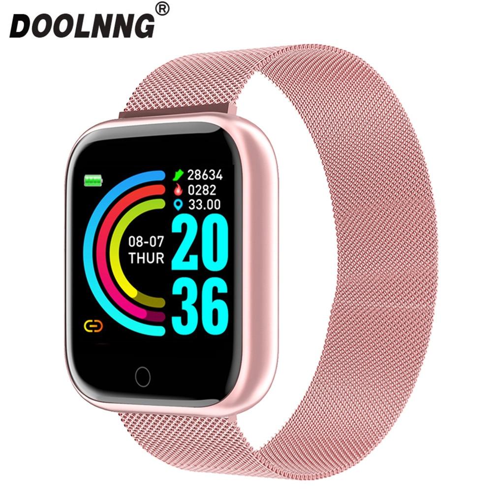 2020 homens relógio inteligente freqüência cardíaca pressão arterial monitoramento do sono à prova dwaterproof água esportes mulheres smartwatch fitness passo