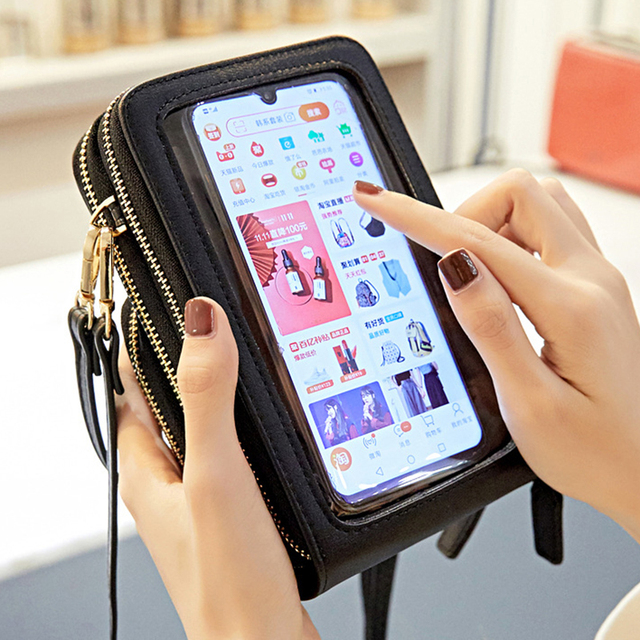Business Travel Laptop cases Touchable Cell Phone Shoulder Bag