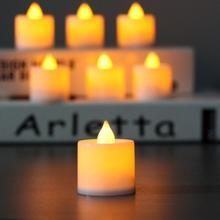 1 шт. креативный беспламенный светодиодный светильник с батареей, многоцветная Лампа для моделирования пламени, чайный светильник для дома, свадьбы, дня рождения, вечеринки, декор TSLM1