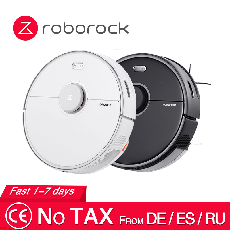 2020 New Arrival Roborock S5 Max Robot Vacuum Cleaner S5max cordless for home upgrade of S50 S55 collect pet hairs|Vacuum Cleaners|   - AliExpress