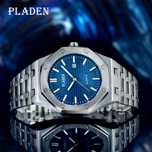 Men Watch Ome Major Business-Diver Quartz Gift Shockproof PLADEN Luminous Luxury Holiday