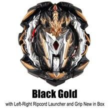Mksafn Bayblade Burst черный золотой B-153 Prime Apocalypse бустер гироскоп отсеки металлические лезвия Спиннер с пусковой установкой в коробке