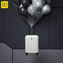 90FUN 20inch Travel Suitcase 40L 1.7kg Lightweight Aluminum Alloy Lock Spinner Wheel Luggage Case Portable