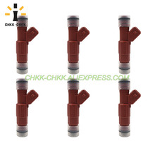CHKK-CHKK 0280155735 97TF-AA 842-12202 fuel injector for FORD AEROSTAR 1997 EXPLORER 1997~1998 RANGER 1997 4.0L V6 free shipping 4 pieces x fuel injector nozzle for ford explorer u2 4 0l v6 oem 97jf ba 0280155734