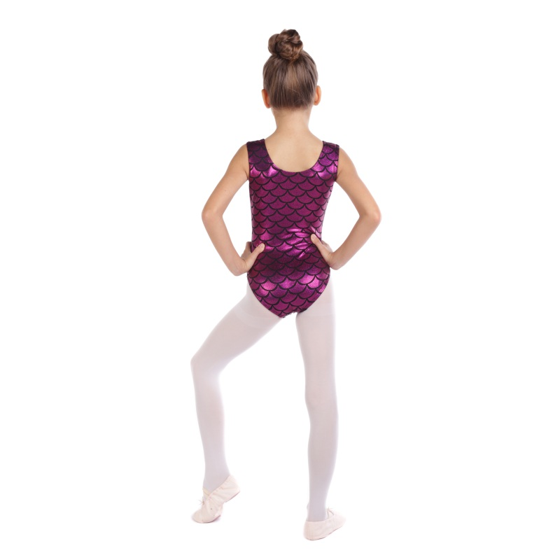 Gymnastics Clothes Girls High-quality Sleeveless Color Matching Body Jumpsuit Ballet Dance Practice Clothes