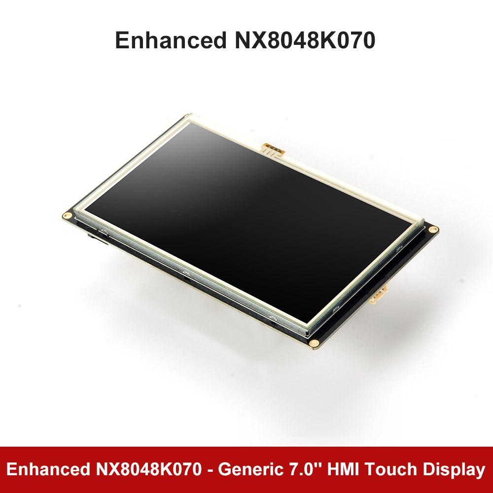 Nextion Enhanced K Series: 7 NX8048K070 резистивный сенсорный экран HMI USART серийный TFT ЖК модуль Дисплей для Arduino RaspBerry Pi