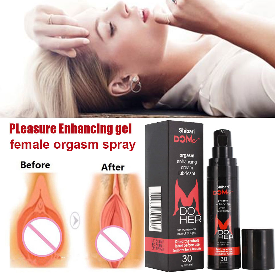 Aphrodisiac Intense Orgasmic Gel 30ml Sex Drops Exciter For Women Climax Strong Enhance Female Libido Sex Frigidity Intim Gel