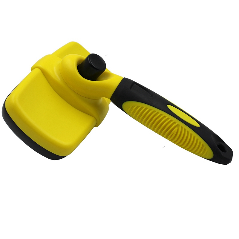 Self-Cleaning Hair <font><b>Dog</b></font> Brush Slicker Comfortable Small Large <font><b>Dog</b></font> Comb Pet Grooming Tool Cat Suitable for All Kinds Of Hair image