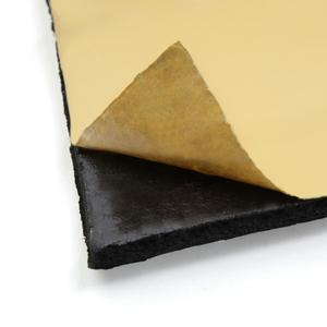 Image 4 - UXCELL 10mm kalınlığında alüminyum Fiber susturucu pamuk araba oto Fender ısı ses yalıtımı yalıtım matı