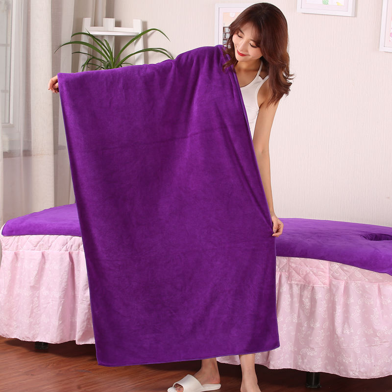 Beauty Salon Bath Towel Extra-large Thick Large Towel Than Pure Cotton Soft Absorbent Men And Women Wrap-around Adult Not Shed