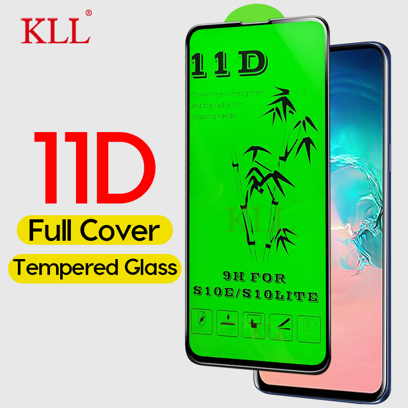 11D Curved Tempered Glass For Samsung Galaxy S10E M30 M20 M10 A50 A30 A20 Screen Protector For Samsung A9 A8 A7 A6 J4 Plus J6